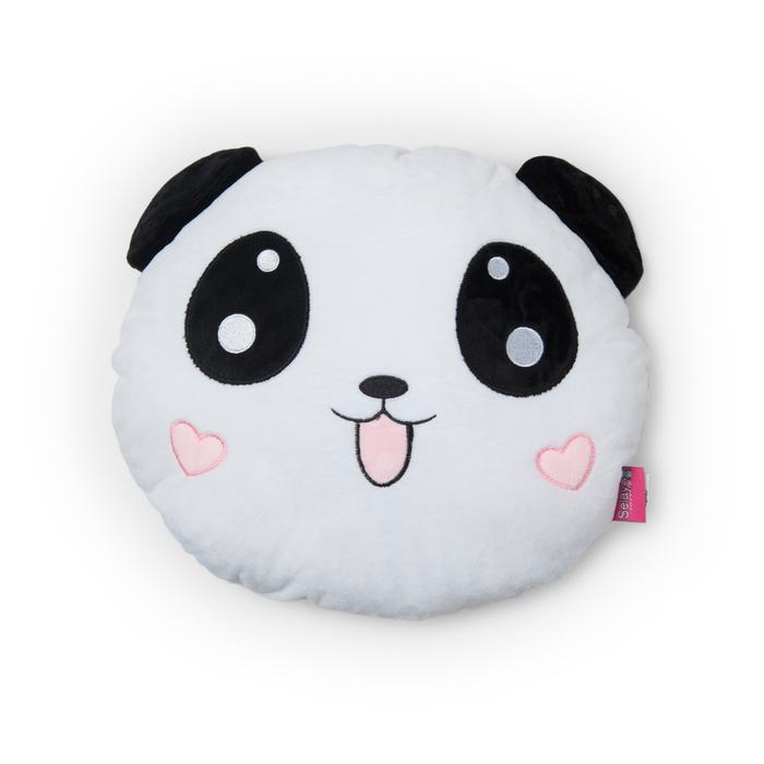 Resim  Selay Panda Figürlü Yastık - 35 cm
