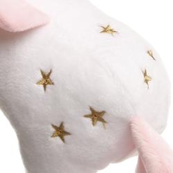 Selay Toys Unicorn Figürlü Yastık (Beyaz / Pembe) - 35 cm