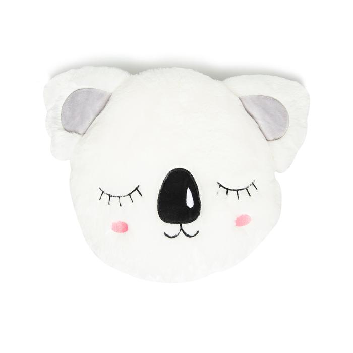 Selay Toys Koala Figürlü Yastık (Beyaz) - 36 cm