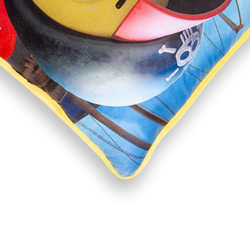 Selay Toys Kral Şakir Figürlü Yastık - 35x35 cm