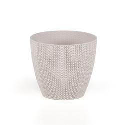 Serinova No 2 Sümela Saksı (Kirli Beyaz) - 1,4 lt