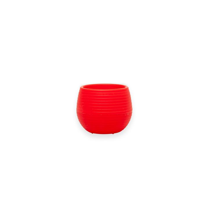Resim  Serinova No 1 Elvan Saksı (Kırmızı) - 0,13 lt