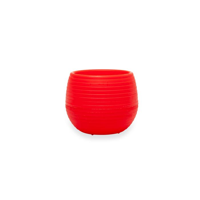 Resim  Serinova No 3 Elvan Saksı (Kırmızı) - 0,55 lt