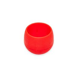 Serinova No 3 Elvan Saksı (Kırmızı) - 0,55 lt