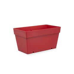 Serinova No-1 Yalı Balkon Saksı (Kırmızı) - 6,5 lt