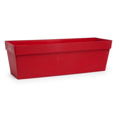 Resim  Serinova No 2 Yalı Balkon Saksı (Kırmızı) - 10,8 lt