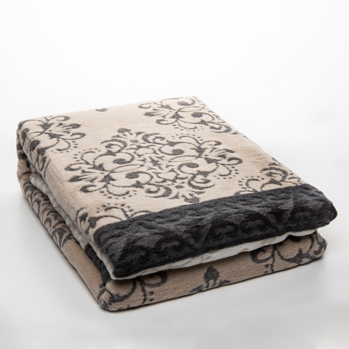 Resim  Bohemhouse ED17752B Pamuklu Çift Kişilik Battaniye - 200x220 cm