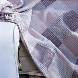 Sesli SKC15643B Comfort Pamuklu Skoç Tek Kişilik Battaniye - 150x200 cm
