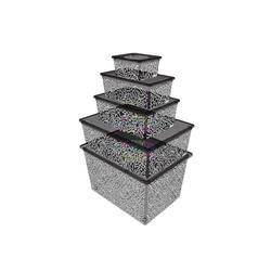 Qutu Lıght Box Fluorescent Grey 5'li Kutu