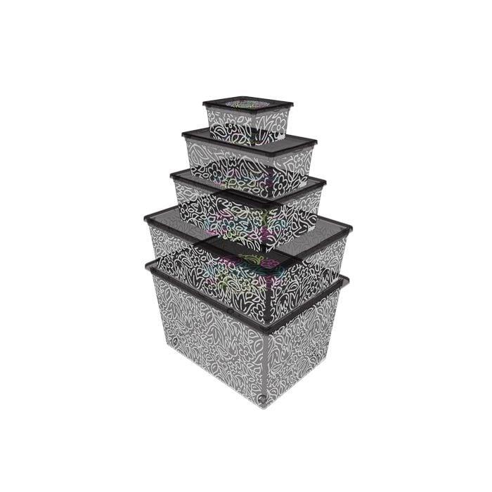 Resim  Qutu Lıght Box Fluorescent Grey 5'li Kutu