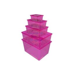 Qutu Lıght Box Fluorescent Pınk 5'li Kutu