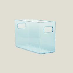 Q-Fridge Bottles Transparent Blue Buzdolabı Şişe Düzenleyici