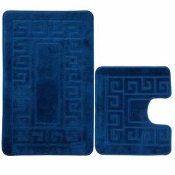Confetti Ethnic 2'li Klozet Takımı - Koyu Mavi
