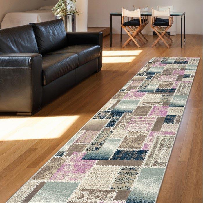 Confetti Karasu Bukle Yolluk (Mavi) - 80x100 cm