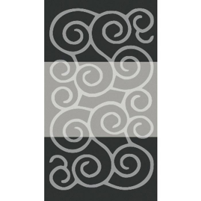 Resim  Confetti Şile Banyo Halısı Siyah - 60x100 cm
