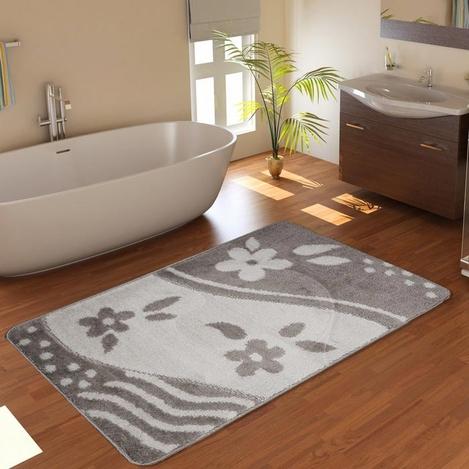 Confetti Bandırma Banyo Paspası (Platin) - 60x100 cm