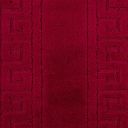 Confetti Ethnic Banyo Paspası (Bordo) - 60x100 cm