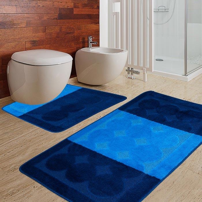 Resim  Confetti Edremit 2'li Klozet Takımı - Koyu Mavi