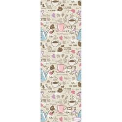 Confetti Coffee Yolluk (Pembe) - 160x350 cm