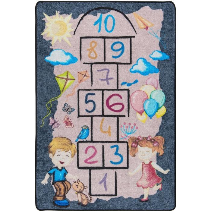 Confetti Street Game Çocuk Halısı - 133x190 cm