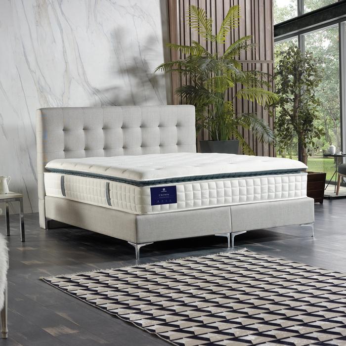 Resim  Housella Crown Pedli Paket Yaylı Tek Kişilik Yatak - 90x190 cm