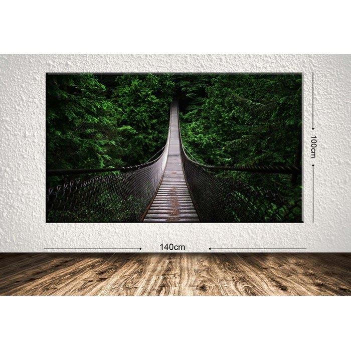 Resim  Tablo Center DEVDR4012 Dev Manzara Kanvas Tablo - 100x140 cm