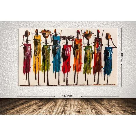 Resim  Tablo Center DEV320420561 Dev Dekoratif Kanvas Tablo - 100x140 cm
