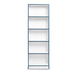 Just Home Hera Kitaplık - Beyaz/Mavi