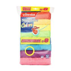 Vileda Mıkrofıber Colors 8'li Bez