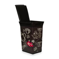 Q-Trash Bin Coffee House Mutfak Çöp Kovası - 40 lt.