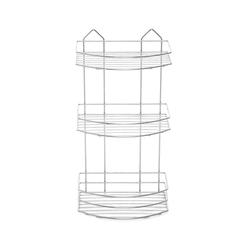 Tekno-tel BK009 Üç Katlı Banyo Rafı - Krom
