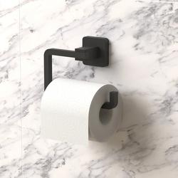Tekno-tel Alüminyum Tuvalet Kağıtlık - Mat Siyah