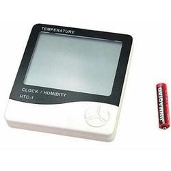 Practika J52 Dijital Termometre Nem Ölçer Masaüstü Saat