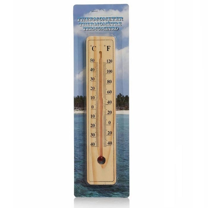 Resim  Practika T78YT0732 Ahşap Oda Termometresi