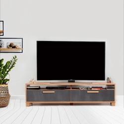 Just Home Box 160 Cm Tv Ünitesi - Atlantik Çam/Antrasit