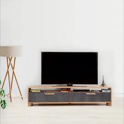 Just Home Box 180 Cm Tv Ünitesi - Atlantik Çam/Antrasit
