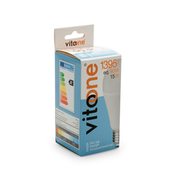 Vitoone Basis-2 A60 - 15 W/100  Led E27 6400K Glb Ampul