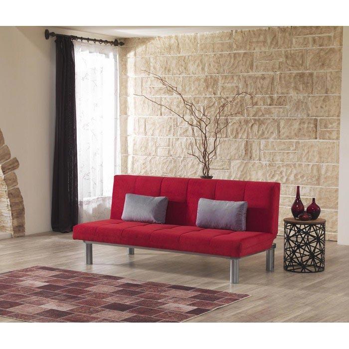 Serhat Mobilya Relax Fonksiyonel Kanepe - Kırmızı | Evidea