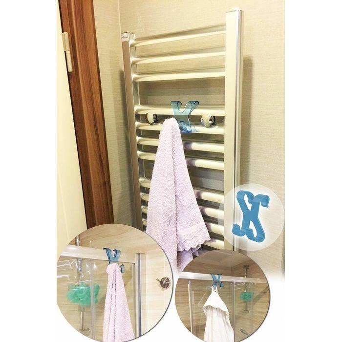 Resim  Patrix TP239 Plastik Havlupan Duşakabin Askısı