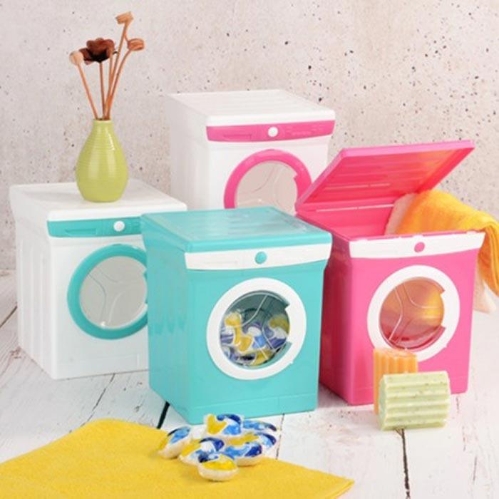 Resim  Patrix Çamaşır Makinesi Görünümlü Deterjan Kutusu - Asorti