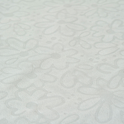 Gofre Embossed Masa Örtüsü (Krem) - 150x150 cm