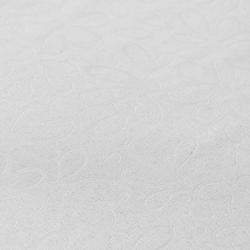 Gofre Embossed Masa Örtüsü (Beyaz) - 150x220 cm