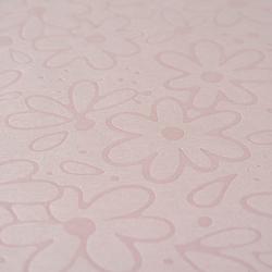 Gofre Embossed Masa Örtüsü (Pudra) - 150x150 cm