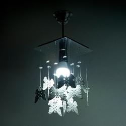 D-Light Kelebek 20'lik Beyaz Avize