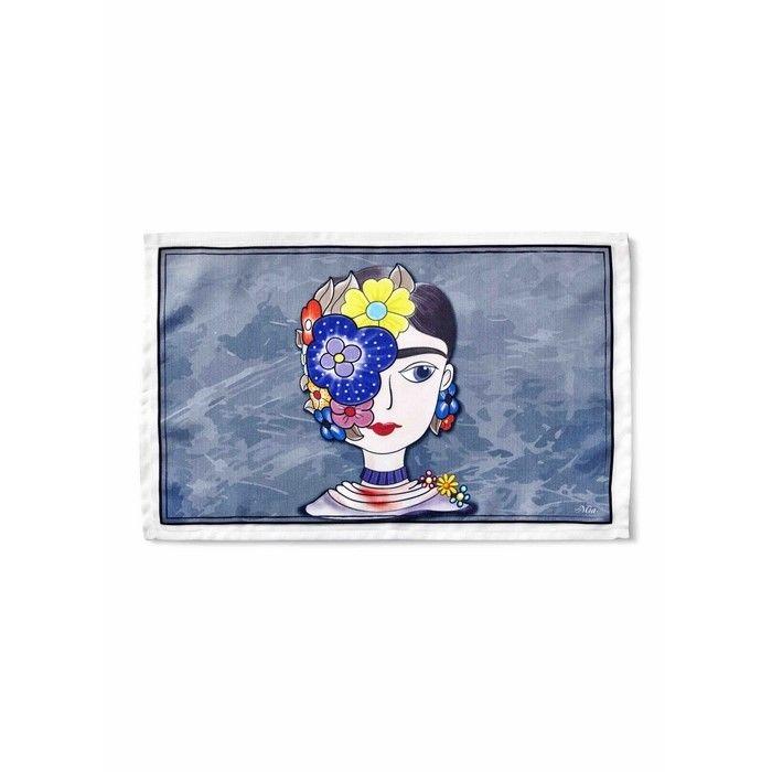 Resim  The Mia TXT022 Frida Mutfak Havlusu - 60x40 cm
