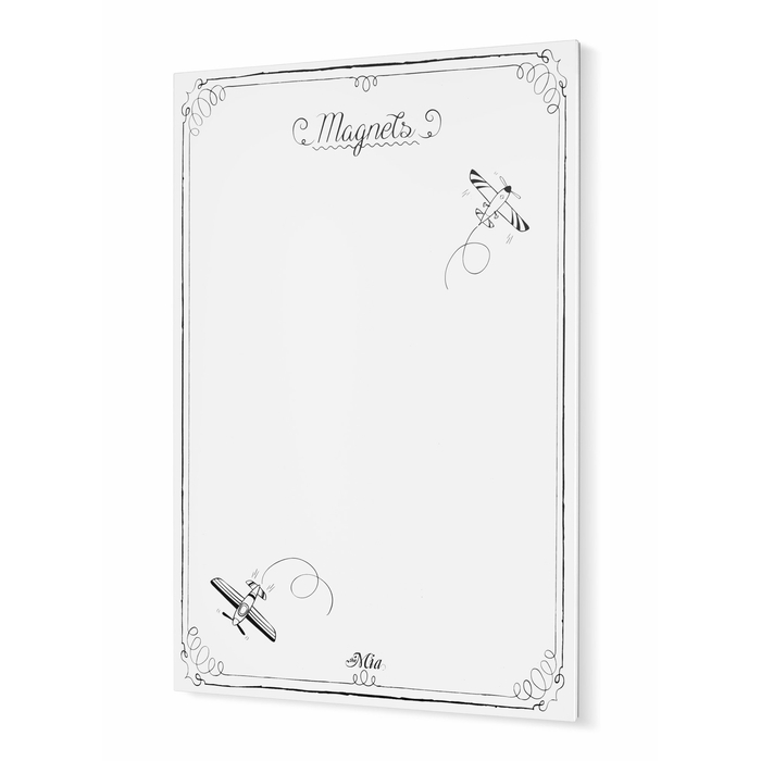 The Mia GLV0352 Magnet Panosu (Beyaz Mat) - 70x50 cm