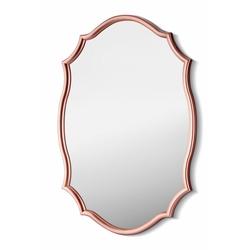 The Mia Dalga Kenarlı Ayna (Rose) - 63 x 42 cm