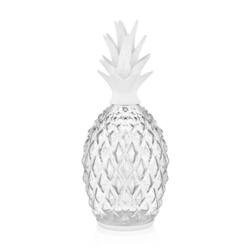 The Mia Dekor Cam Ananas - Beyaz