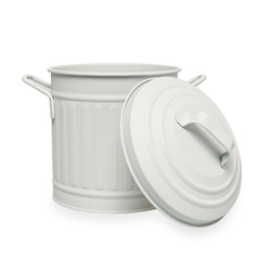 The Mia Tezgah Çöp Kovası (Beyaz) - 4 Litre