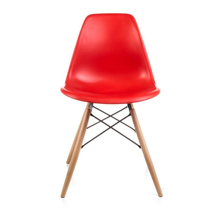 Resim  Just Home Mona Sandalye - Kırmızı